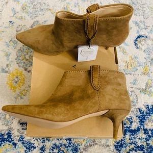 Zara Authentic Leather Bootie